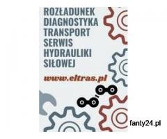 Firma ELTRAS specjalizuje się w usługach związanych z transportem, rozładunkiem, diagnostyką pojazdó