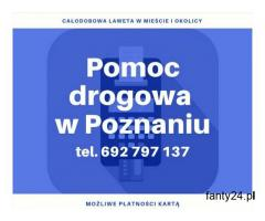 Auto holowanie pojazdów osobowych, dostawczych, ciężarowych w Poznaniu i okolicach