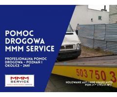 Profesjonalne holowanie pojazdów - Poznań i okolice - MMM Service