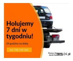 Pomoc Drogowa Jacek Szewczyk -  holowanie pojazdów w Gdańsku