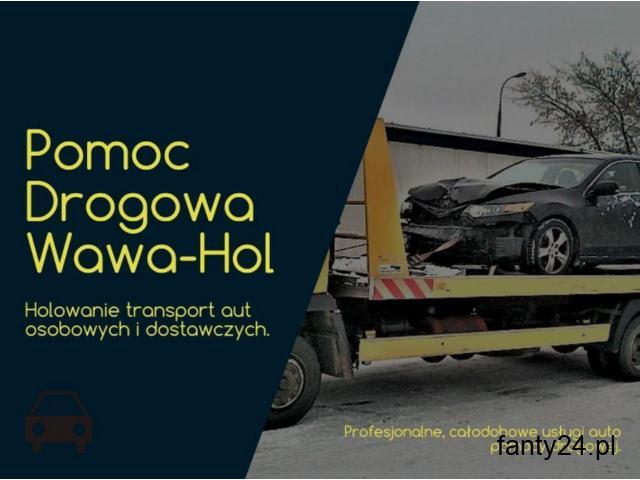 Skuteczna pomoc drogowa z Warszawy - Wawa-Hol