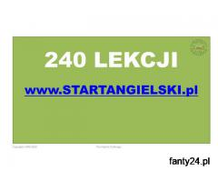 240 lekcji angielskiego na STARTANGIELSKI.PL